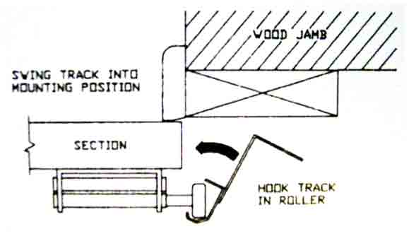 Detailed garage door installation instructions